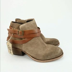 H by Hudson HORRIGAN Ankle Boots Suede Beige